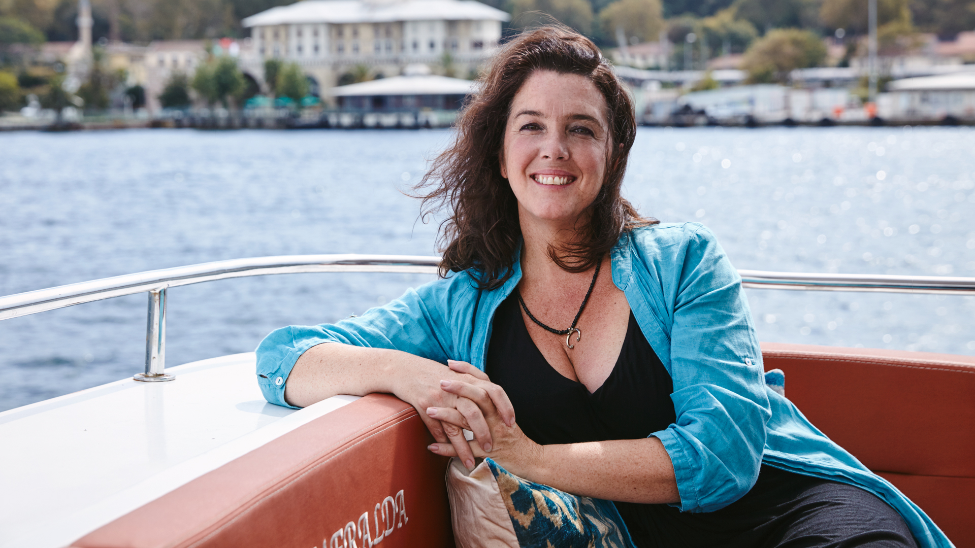 Some of Bettany Hughes's private passions were discovered during her travels as a historian.