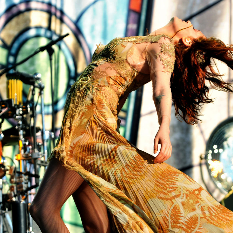 Florence and the Machine, Glastonbury. Photographer: Sarah Jeynes. © BBC.