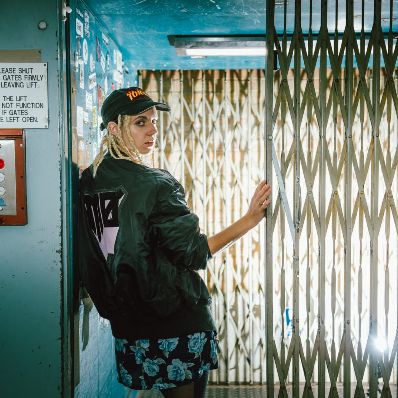 Mø at BBC Maida Vale Studios, 2016. Photographer: Laura Palmer. © BBC.