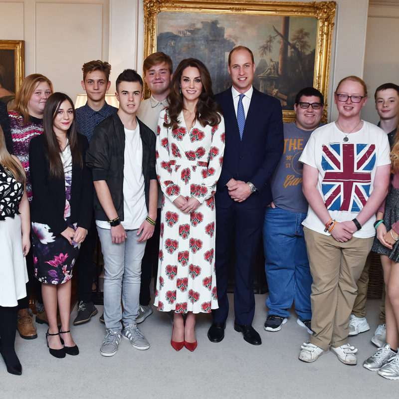 BBC Radio 1 Teen Heroes at Kensington Palace with Clara Amfo, Greg James, Nick Grimshaw, HRH Duke and Duchess of Cambridge, 2016. Loftus Media Photographer: Sarah Jeynes. © BBC.