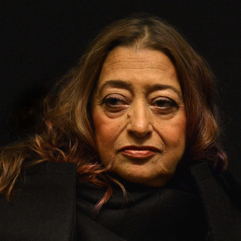 Zaha Hadid, 2012. Photographer: Mark Allan.