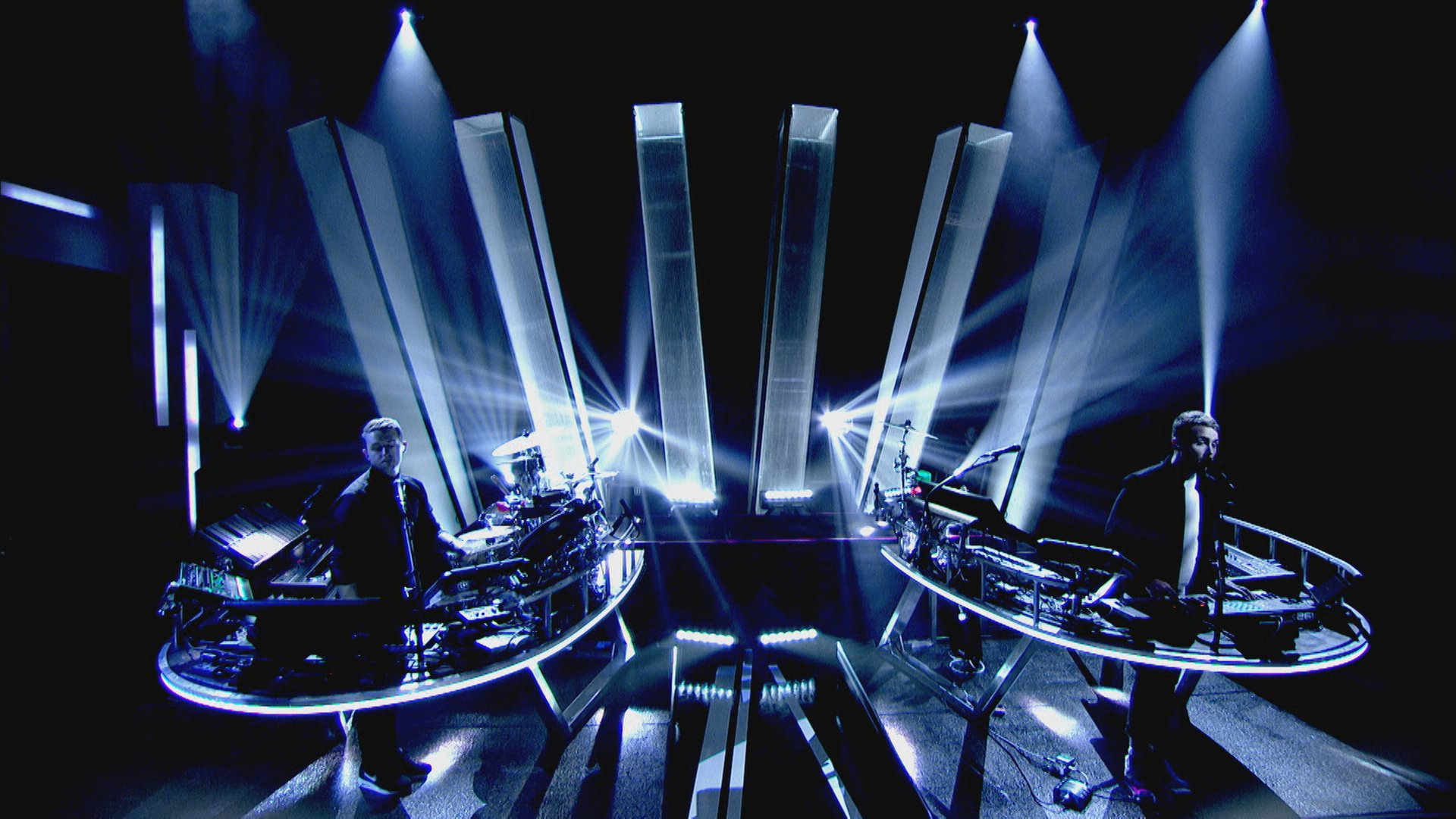 Disclosure, 'Later...with Jools', BBC Two, 2016. © BBC.