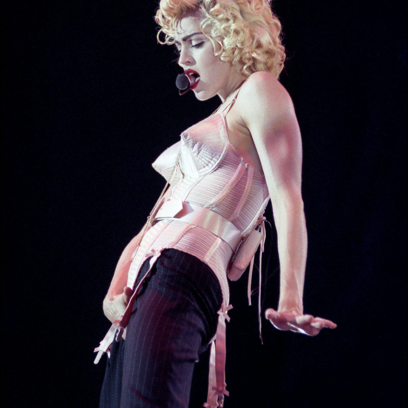 Madonna at Wembley Stadium 1989. Photographer: Mark Allan.