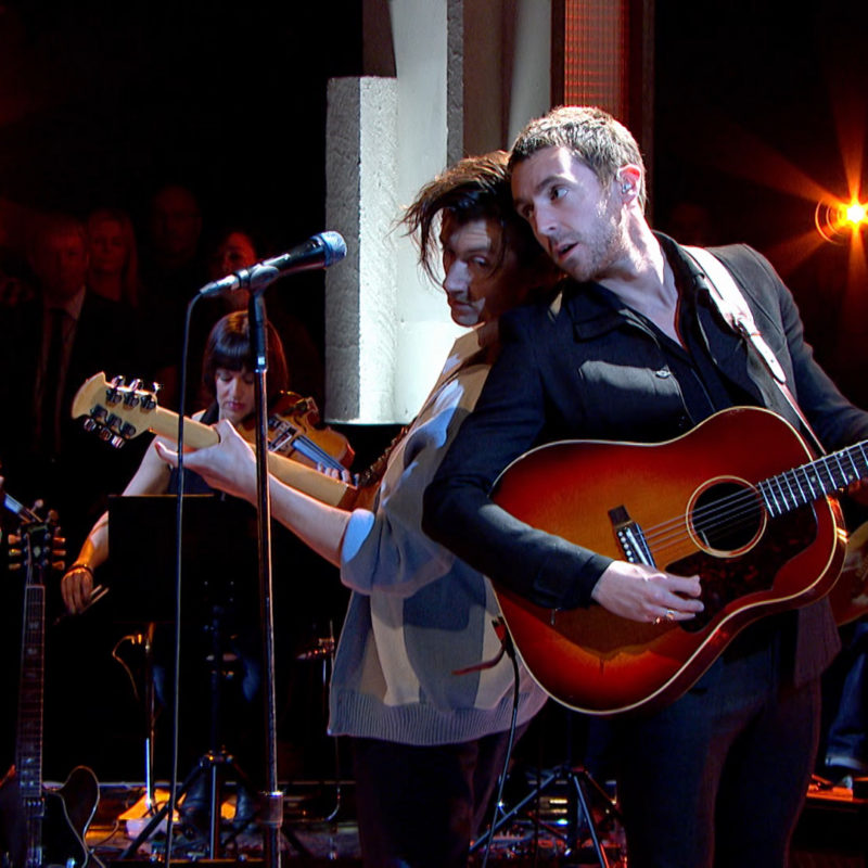 The Last Shadow Puppets, 'Later...with Jools', BBC Two, 2016. © BBC.