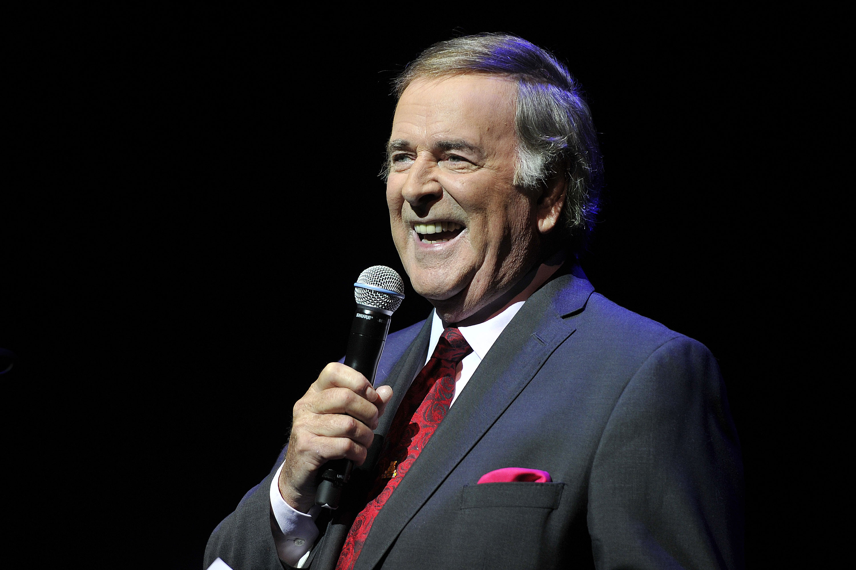 Terry Wogan at Children in Need Concert at The Savoy Theatre on 28th October 2012.  Loftus Media Photographer: Sarah Jeynes. © BBC.
