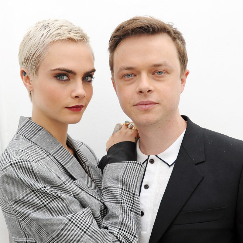 Cara Delevingne & Dane DeHaan captured in July, 2017. Loftus Media Photographer: Sarah Jeynes © BBC.