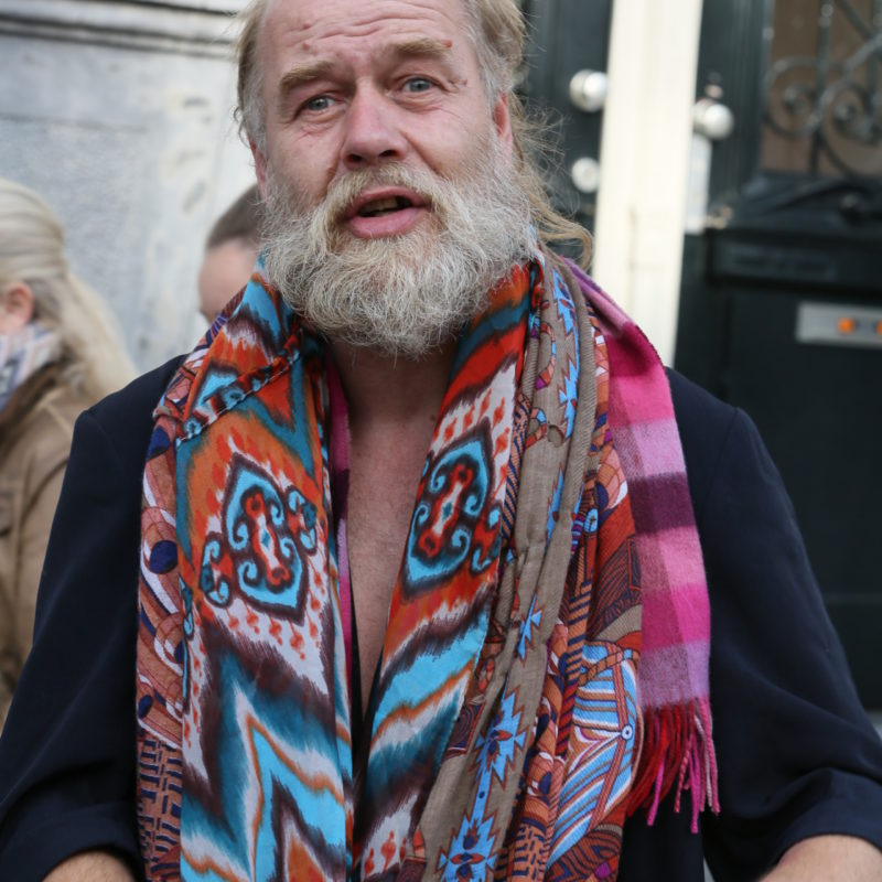 'The last hippie in Amsterdam'. © Paul Jay, 2016