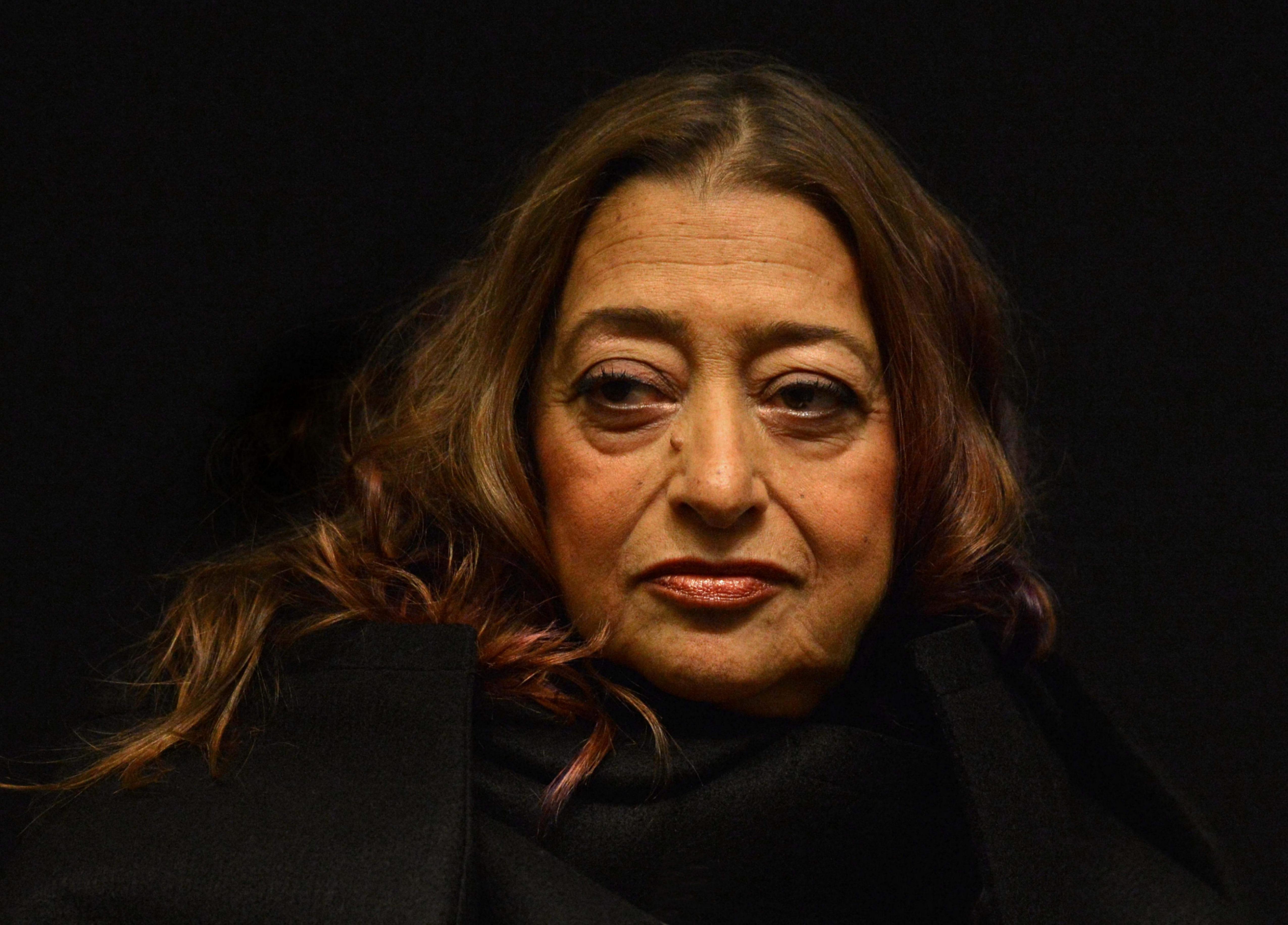 Zaha Hadid, 2012. Photographer: Mark Allan.