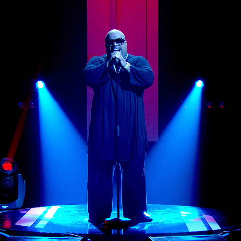 Cee Lo Green performs on Later, 2016