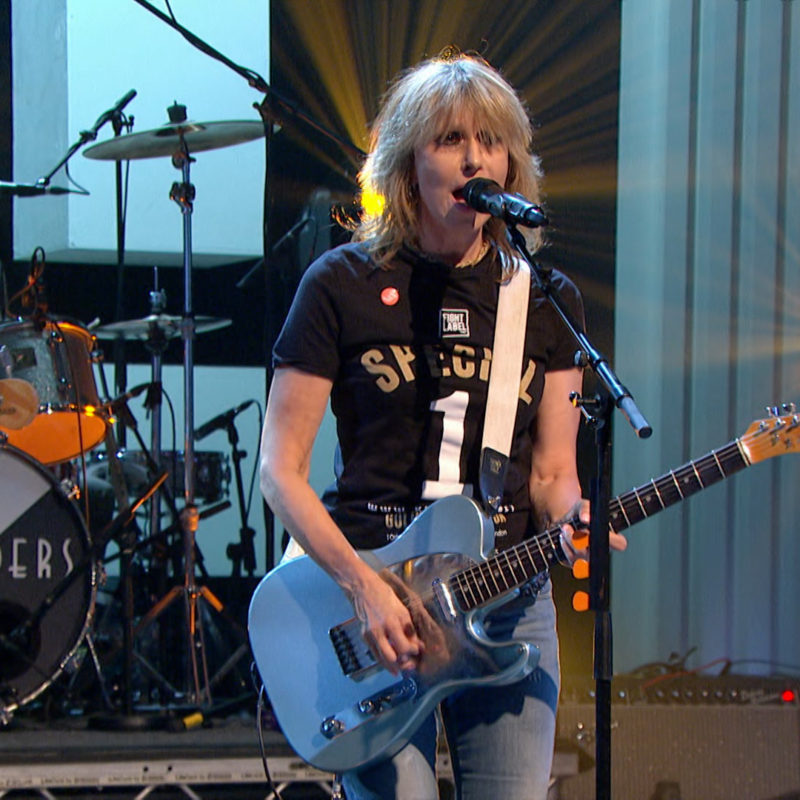 The Pretenders, 'Later...with Jools', BBC Two, 2016. © BBC