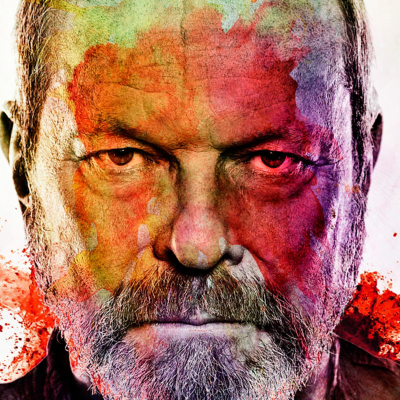Screenwriter, film director, actor and comedian Terry Gilliam