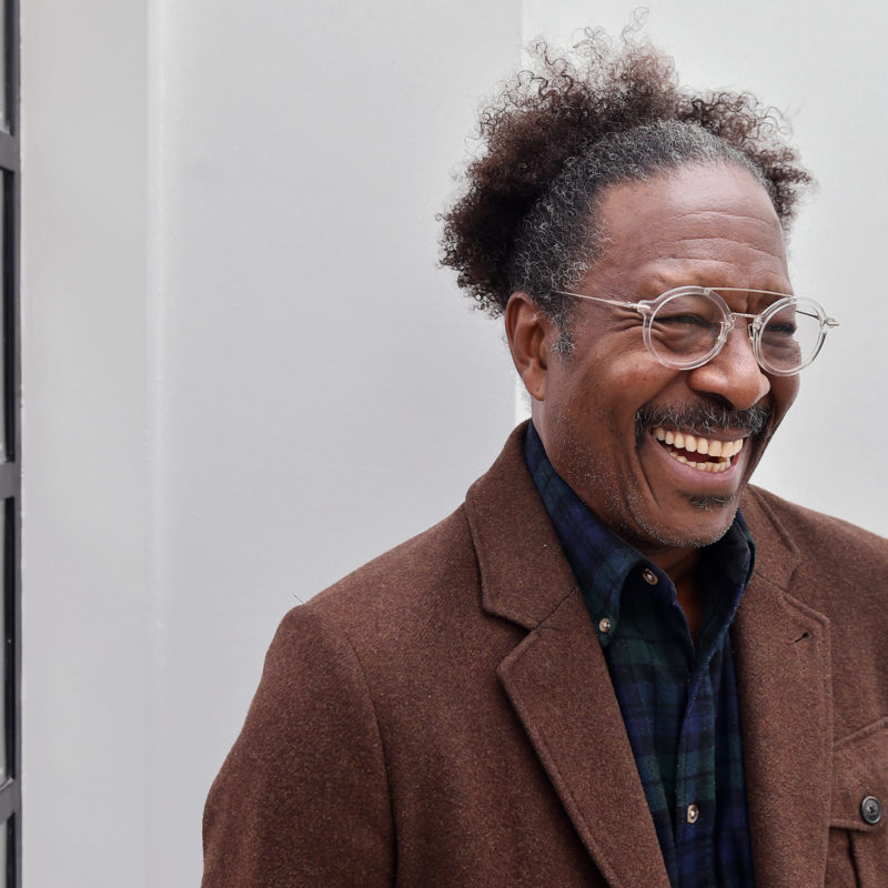 Clarke Peters photographed by Loftus photographer Sarah Jeynes in 2017 © BBC