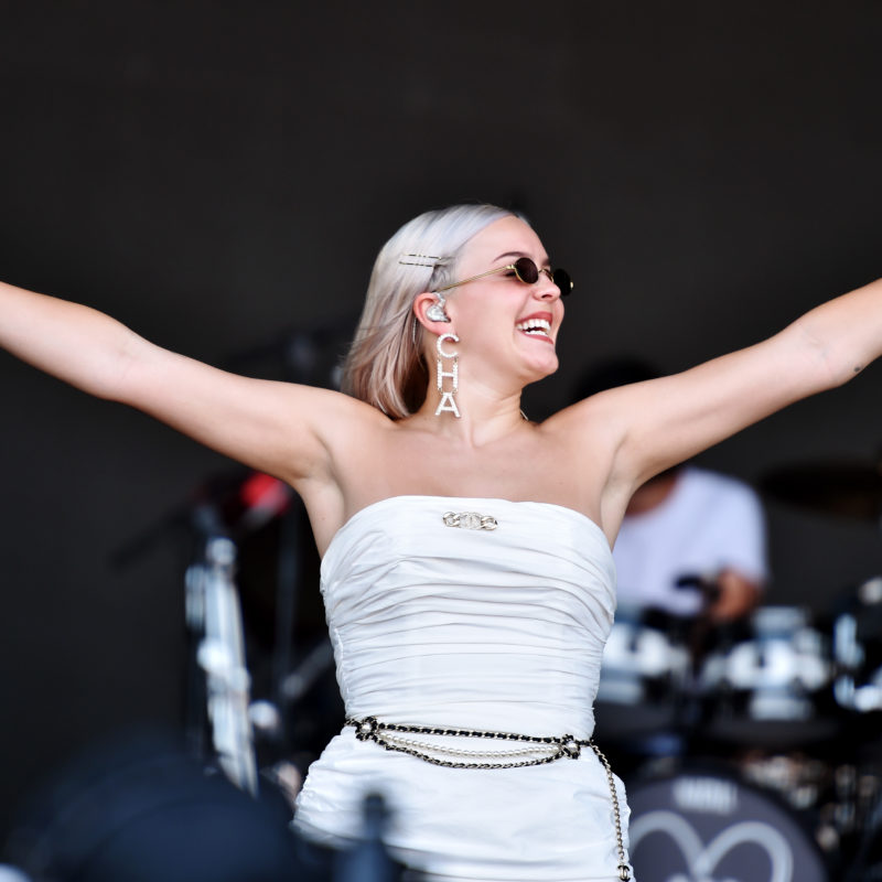 Anne Marie, Glastonbury 2019. Photo by Sarah Jeynes ©BBC