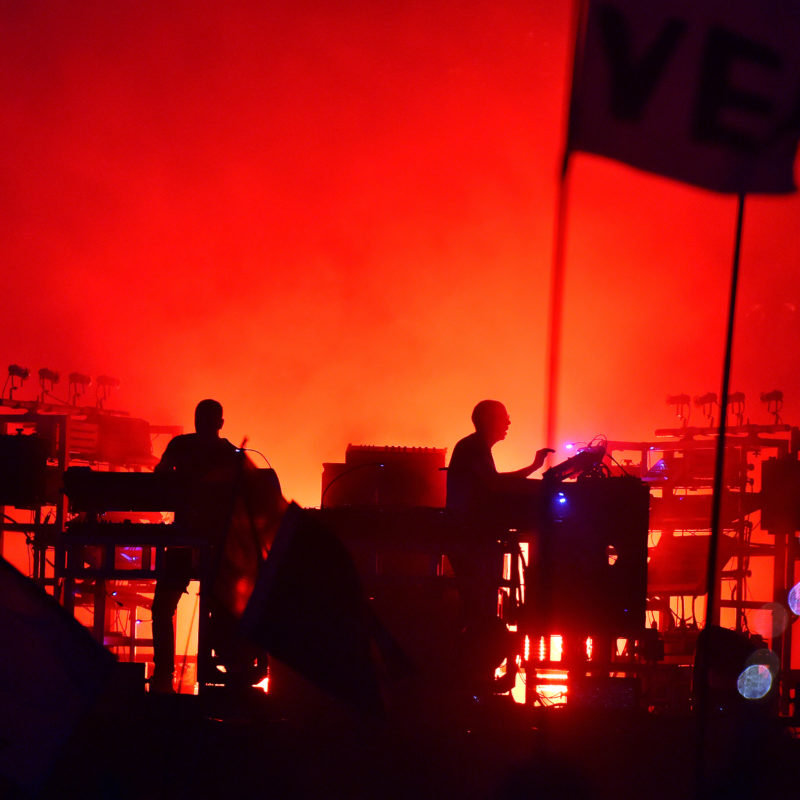 Chemical Brothers, Glastonbury 2019. Photo by Sarah Jeynes ©BBC