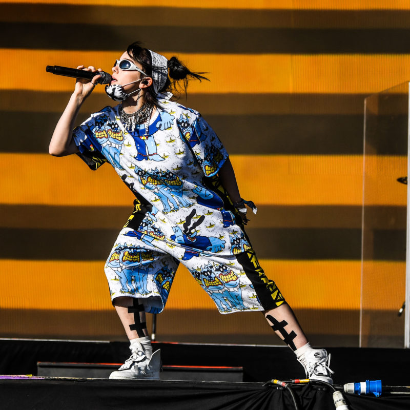 Billie Eilish, Glastonbury 2019. Photo by Ruth Medjber ©BBC