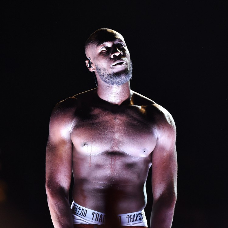 Stormzy live at Glastonbury 2019 by Loftus photographer Sarah Jeynes © BBC