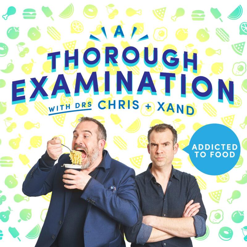 A Thorough Examination with Chris and Xand podcast by Loftus Media. Designer Ben Wundersitz, Photographer Jonathan Birch ©2021